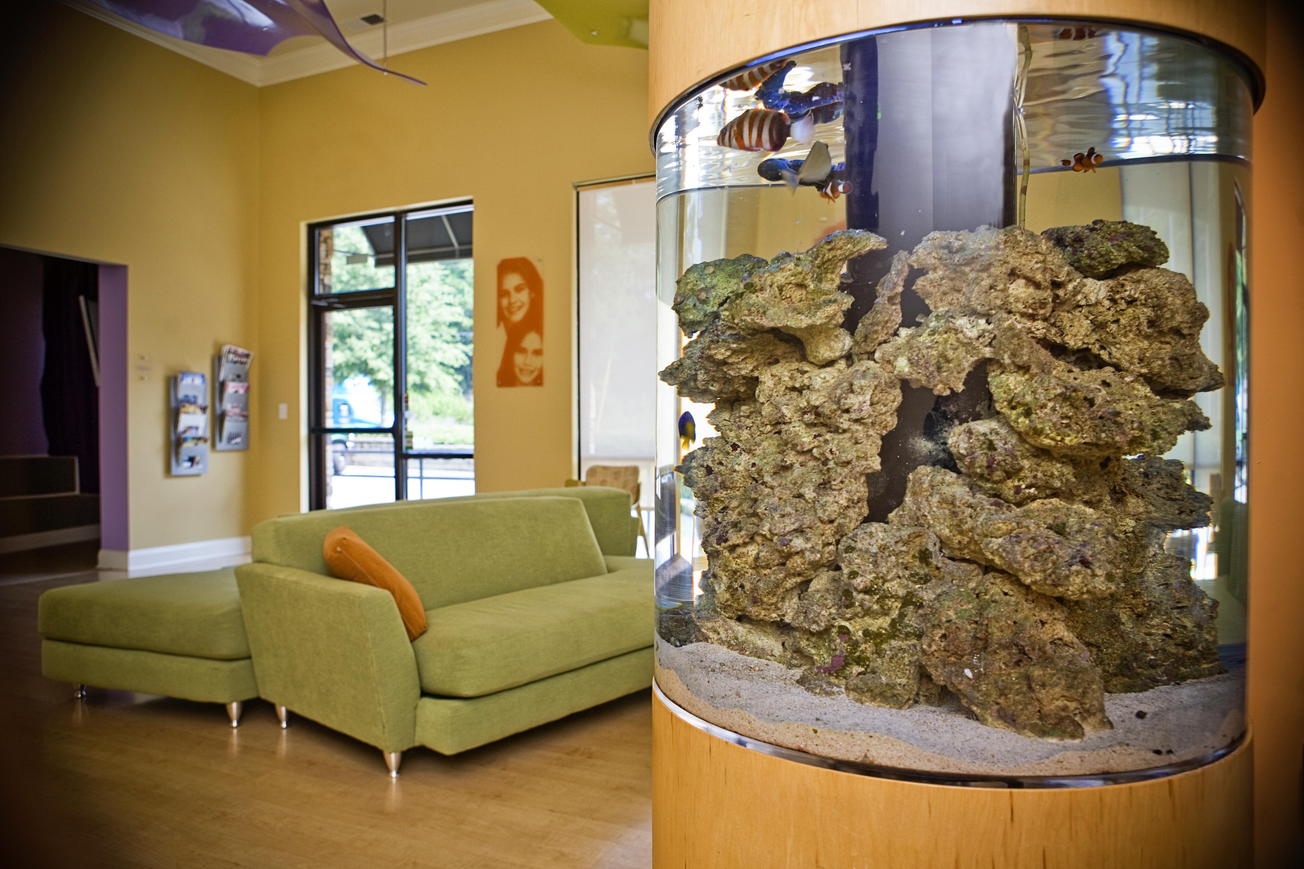Cylinder Aquarium